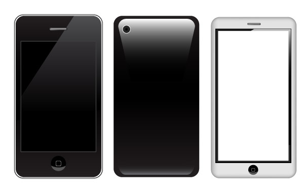 Free Vector Apple iPhone 3g-3gs-4g
