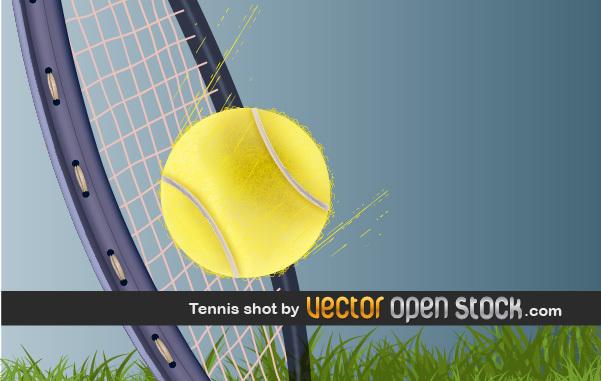 Free Tennis Shot