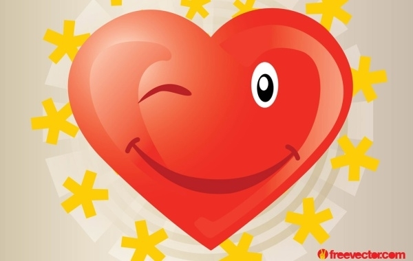 Free Heart Vector Cartoon