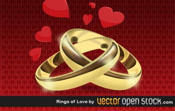 Free Rings of Love