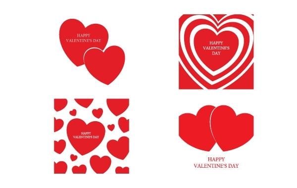 Free Happy Valentine's Day Vector