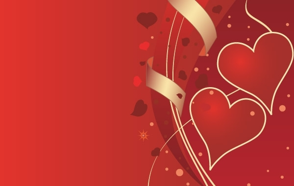 Free Vectors: Valentines Background | Anonymous