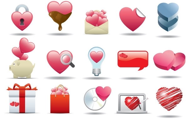 Free Heart Icon Set