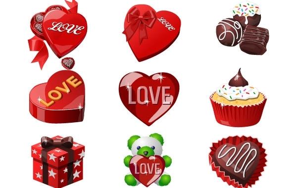 Free Valentine day cake