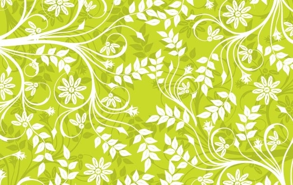 Free Green Background Pattern Vector