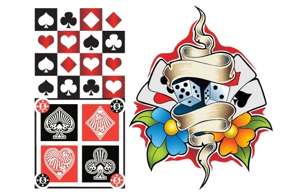 Free Vectors: Poker Elements Vector | Anonymous