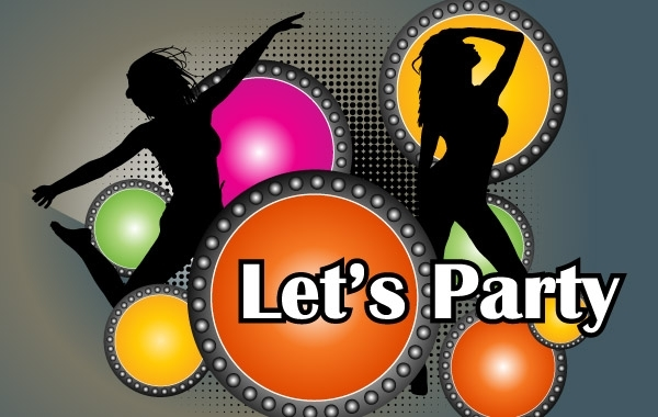 Free Party Poster Vector