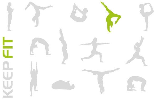 Free KEEP FIT VECTOR PACK
