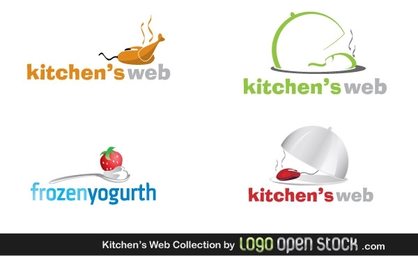 Free Kitchens Web logo Collection