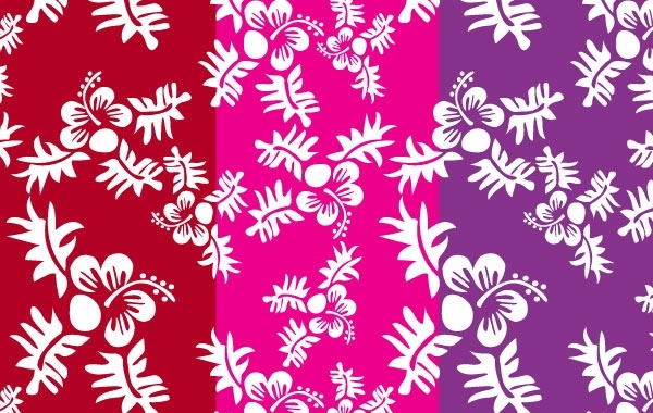 Free Seamless Flower Pattern 6