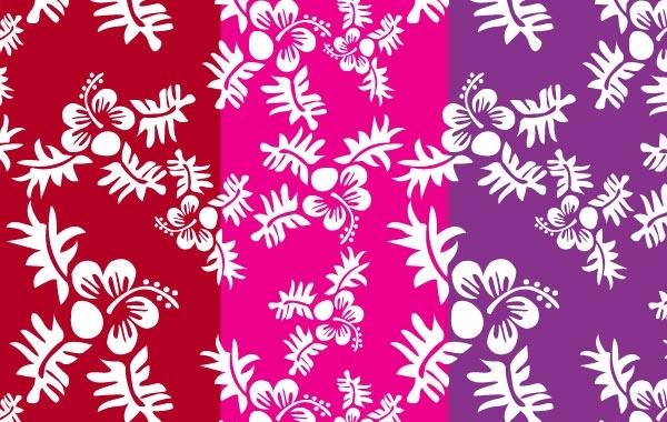 Free Seamless Flower Pattern 6