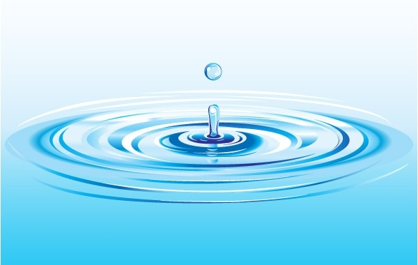 Free Realistic Water Drop Splash