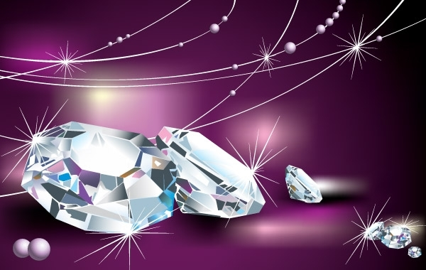 Free VECTOR DIAMOND COOL MATERIAL