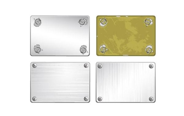 Free Screw metal texture vector material
