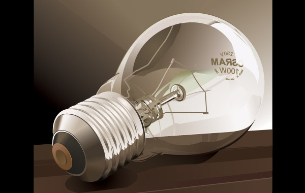 Free Bulbs vector material