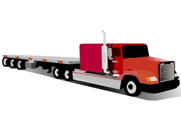Free Container Truck clip art