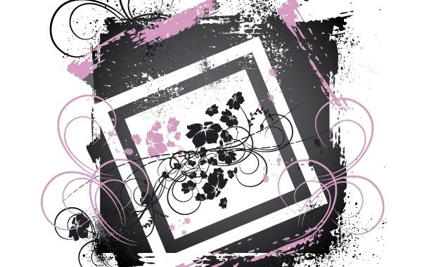 Free Decorative pattern vector