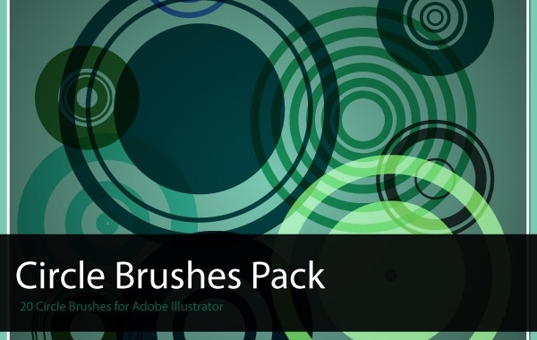 Free Circles Brush Pack