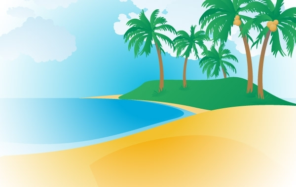 Free 148-Tropical Beach