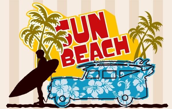Free Beach Graphic