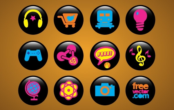 Free Icons Buttons