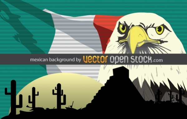 Free Mexican background