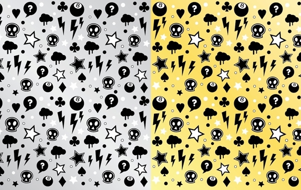Free Punk Rock Pattern