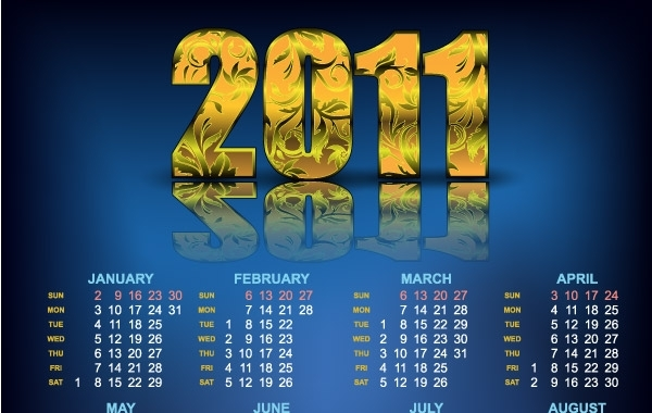 Free Year 2011 Calendars 23