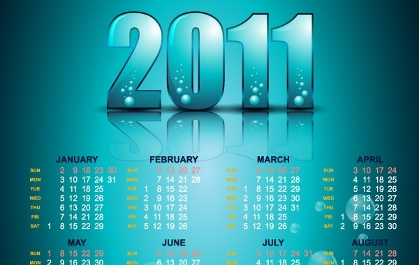 Free Year 2011 Calendars 22