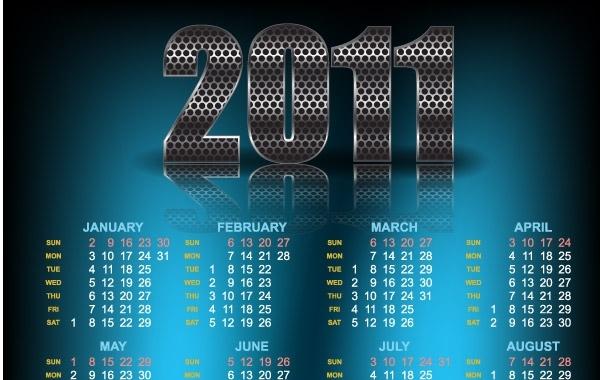 Free Year 2011 Calendars 21