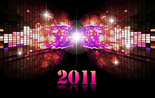 Free Futuristic Calendar 2011 01