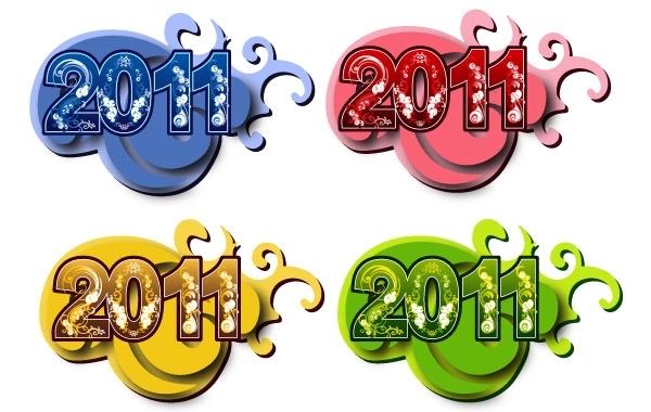 Free 2011 New Year Symbols