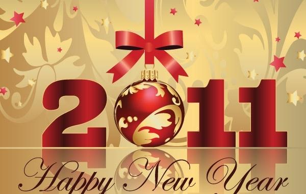 Free Happy New Year Vectors