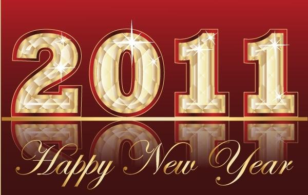 Free Happy New Year Vectors 4