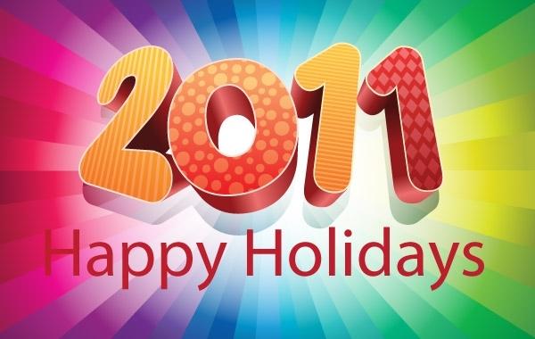 Free 2011 Happy Holidays