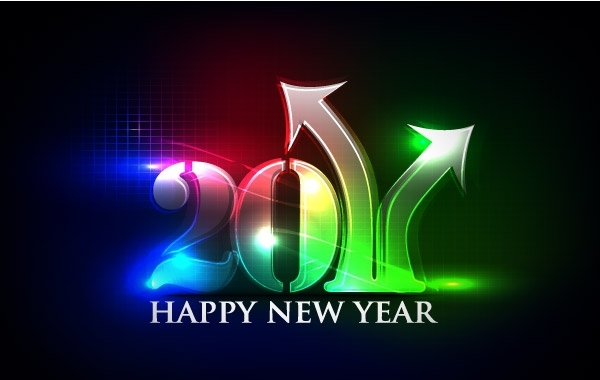 Free Happy new year 2011 eps Vector part02