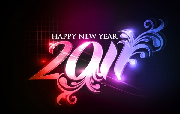Free Happy new year 2011 eps Vector part05