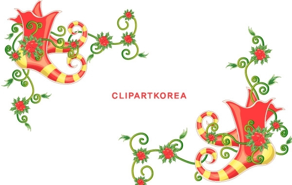 Free CHRISTMAS EXQUISITE LACE VECTOR MATERIAL-12