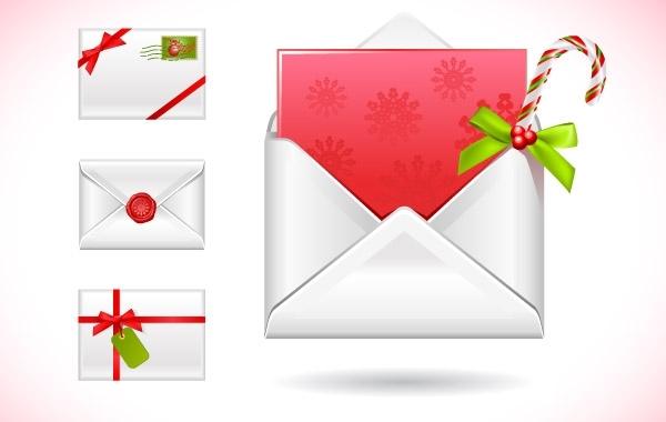 Free CHRISTMAS MESSAGE VECTOR