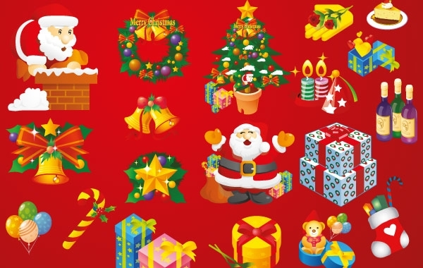 Free Christmas Vector Art Elements