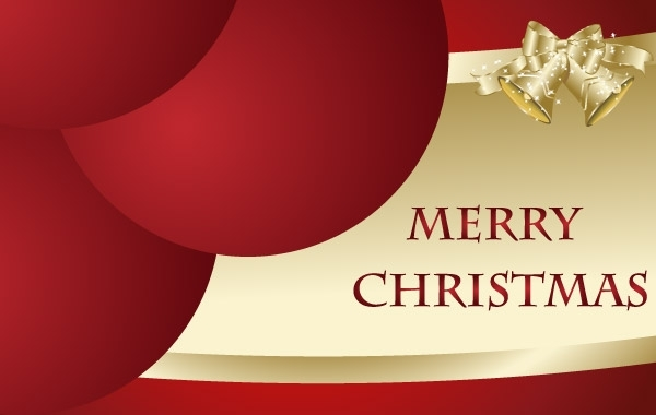 Free Free Merry Christmas Vector Card