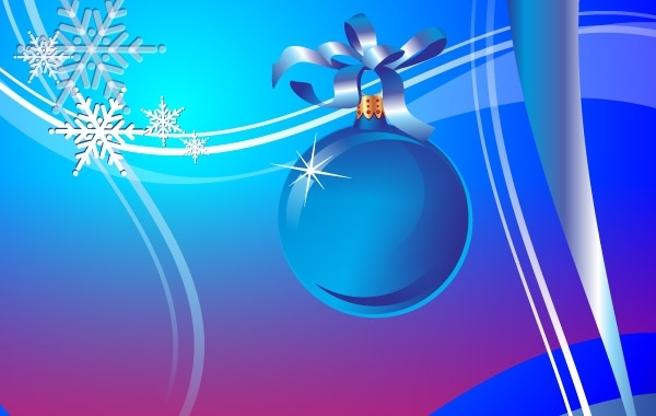 Free Abstract Holiday Vector