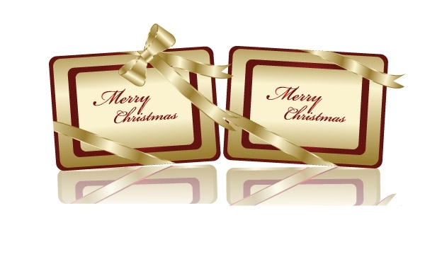 Free Free Golden Christmas Tags