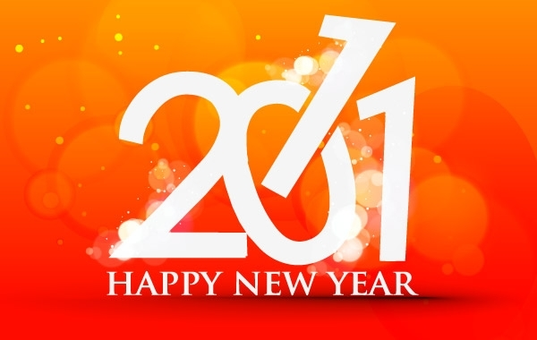 Free Happy New Year 2011 Template 3