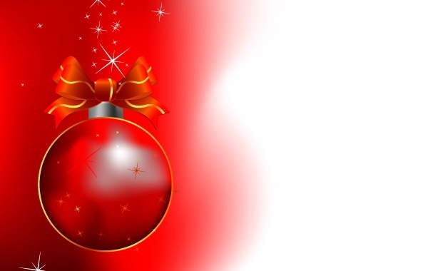 Free Red Christmas Bell Design