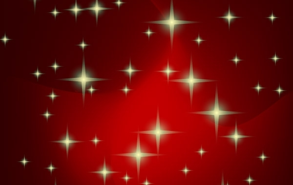 Free Red vector xmas background