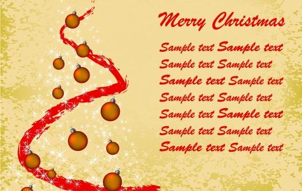 Free Christmas vintage background