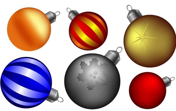 Free Christmas ball collection