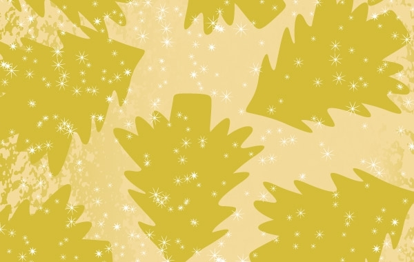 Free Yellow Tree Vintage christmas background