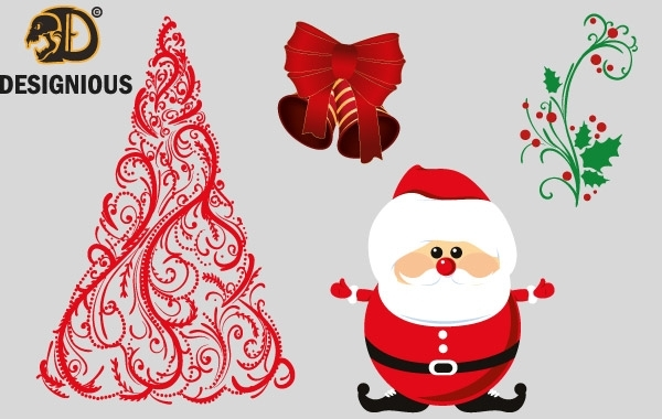 Free Vector christmas elements